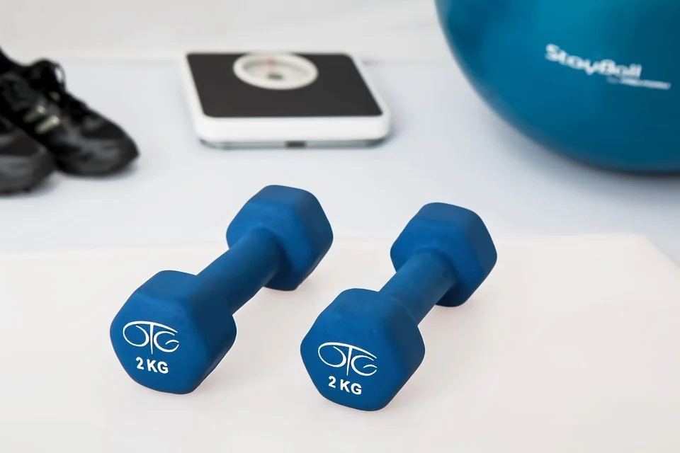 I cvičením se hubne